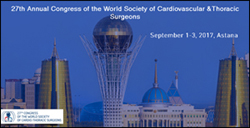 27th Annual Congress of the World Society of Cardiovascular & Thoracic Surgeons